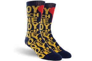 Toy Machine Blood Spot Sock Navy