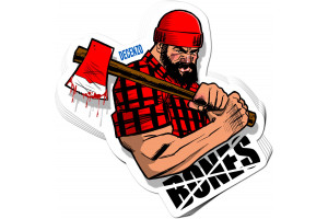 Bones Decenzo Brawney Sticker