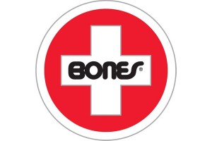 Bones Bearings Swiss Round Sticker LRG