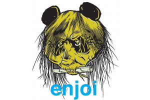 Enjoi 80's Head Sticker