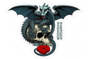Powell&Peralta Dragon Skull  Sticker