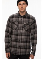 686 Heavyweight Flannel Charcoal Plaid