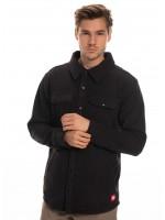 686 Sierra MID LAYER Fleece Flannel Black