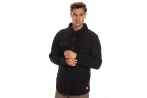 686 Sierra MID LAYER Fleece Flannel Black