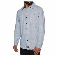 Independent Block Shirt Blue Stripe