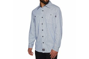 Independent Block Shirt Blue Stripe