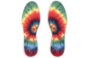 Mr. Lacy Insole Print Pack Tie Dye