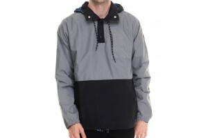 Adidas Skateboarding Silas Wind Jacket GreyBlack