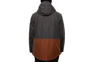 686 Anthem Insulated Jacket Charcoal Colorblock 10K/10K