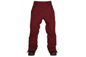 686 Authentic Infinity Insulated Cargo Pant WineHerringbone 10K/10K/-12'C