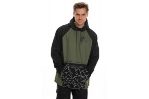 686 Waterproof Hoody Surplus Green 10K/10K