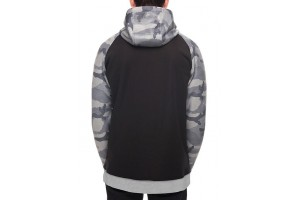 686 Knockout Bonded Fleece Hoody Grey Camo DRW/-7'C