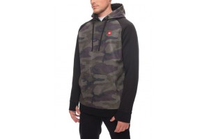 686 Knockout Bonded Fleece Hoody Dark Camo DRW