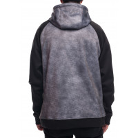686 Knockout Bonded Fleece Charcoal DRW