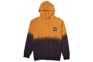 686 Knockout Dye Pullover Golden fade