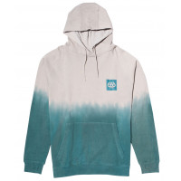 686 Knockout Dye Pullover Grey fade