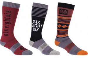 686 Knockout Sock 3-Pack