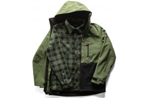 686 SMARTY 3-IN-1 PHASE SOFTSHELL Surplus Green 10K/10K