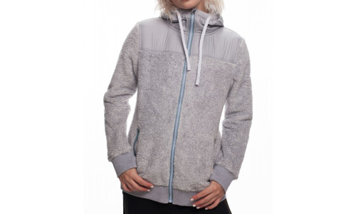 686 WMNS Flo Polar Zip Fleece Grey