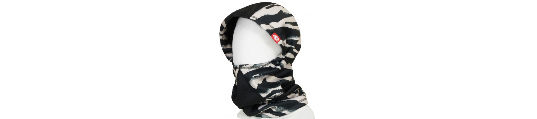 686 WMNS Hunteress Face Mask Zebra