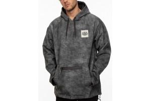 686 Waterproof Hoody Grey wash 10K/10K