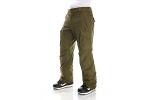 686 Infinity Insulated Cargo pant Olive 10K/10K/-12'C