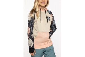 686 Youth Bounded pullover Coral Pink