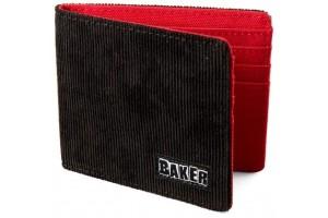 BAKER WALLET CORDUROY BLACK
