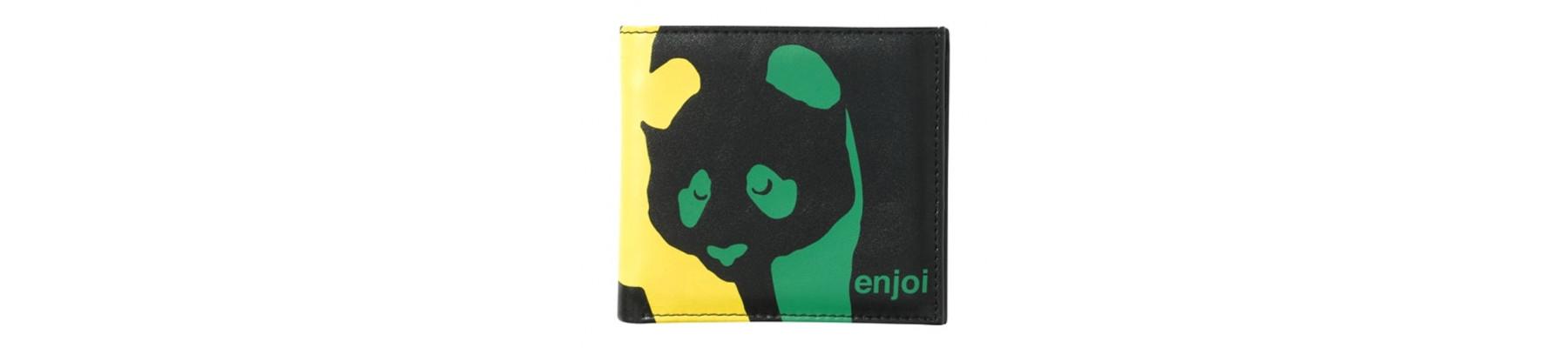 Enjoi Panda Wallet Rasta