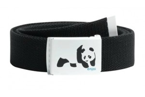 Enjoi Panda Web Belt Black