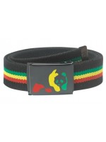 Enjoi Panda Web Belt Rasta