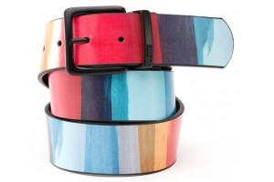Vans Prado Leather Belt Reinvent Red Stripe