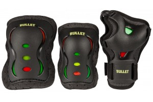 Bullet Triple Junior Padset BlkAs