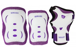 Bullet Triple Junior Padset PurpleWht