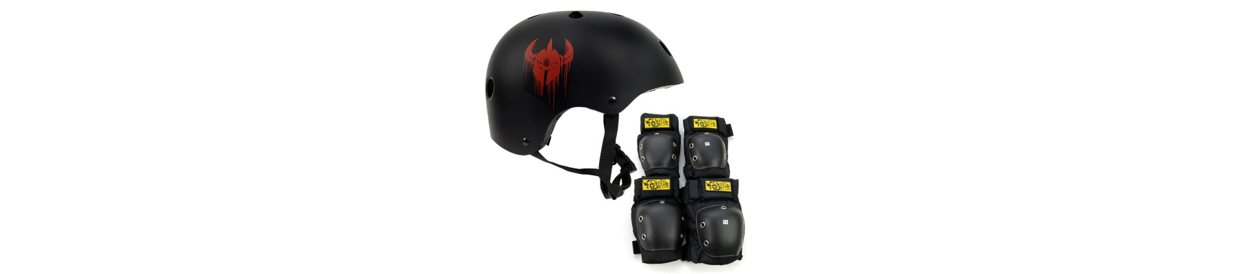 DarkStar Junior helmet and pad pack