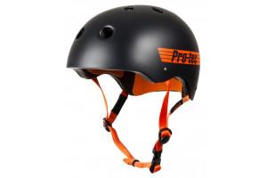 Pro-Tec Helmet Classic Pro Bucky Satin BlackOrange