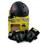 DarkStar Junior helmet and pad pack