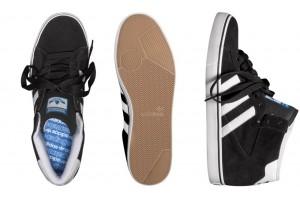 Adidas Skateboarding Campus Vulc Hi Black