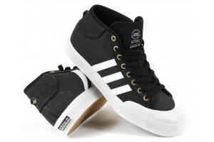 Adidas Matchcourt Mid Black Canvas