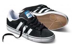 Adidas Skateboarding Campus Vulc Black