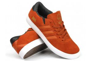 Adidas Skateboarding Gonz PRO FoxRed Suede