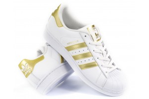 Adidas Superstar W WhiteGold