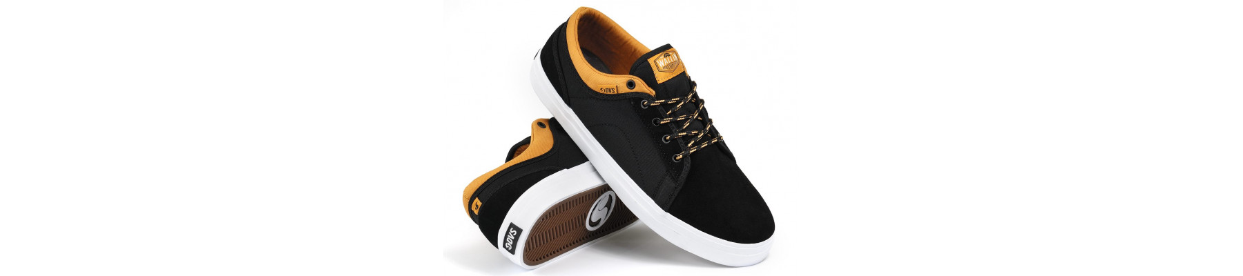 DVS Aversa BlackTan Suede Canvas