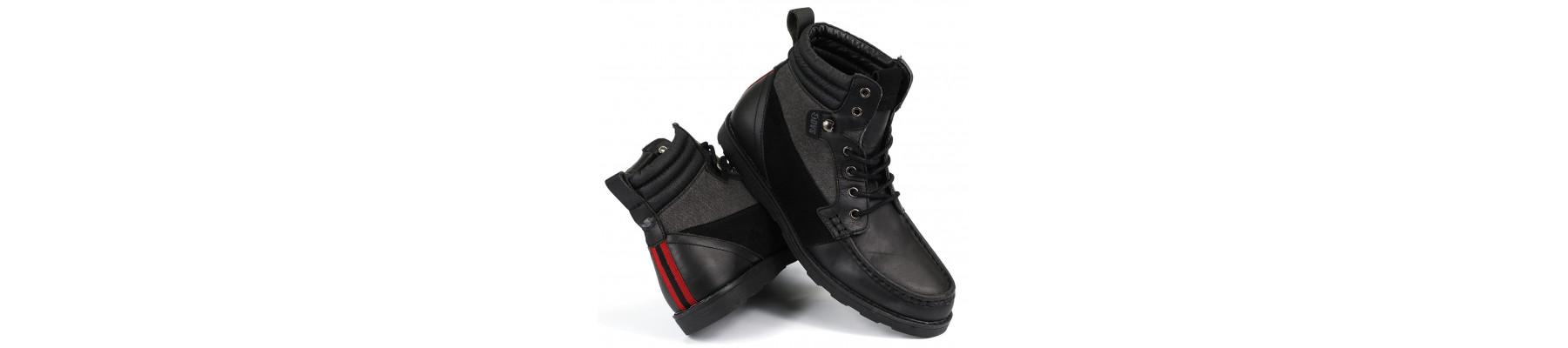 DVS Bishop BLack Leather
