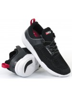 DVS CINCH LITE+ BLACK CHARCOAL 3D PRINT KNIT