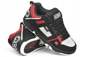 DVS Comanche BlackRed Leather