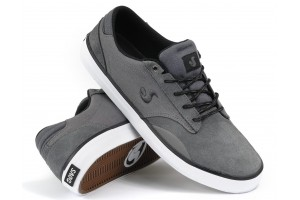 DVS Daewon 14 DarkGrey Suede Canvas