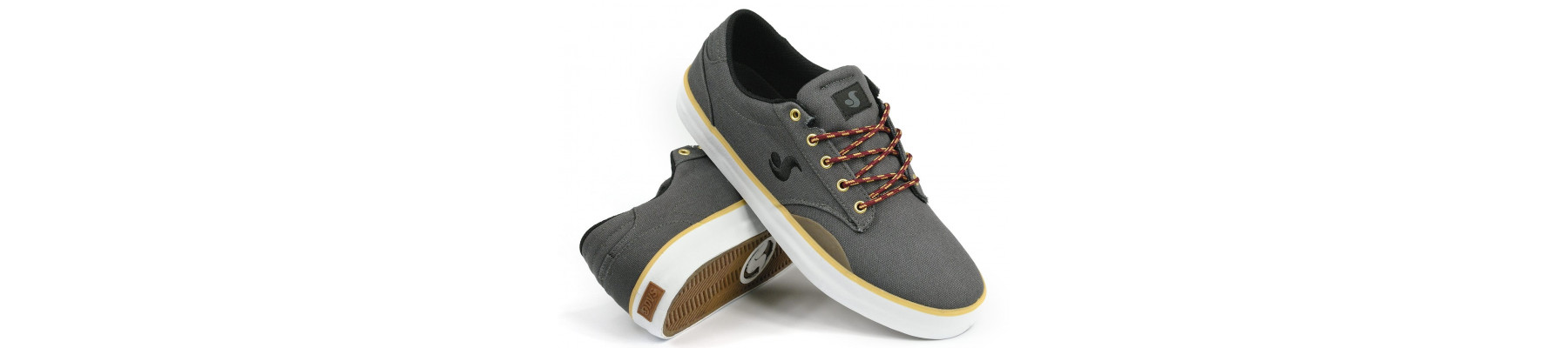 DVS Daewon 14 Grey Canvas