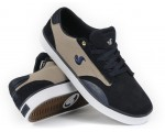 DVS Daewon 14 Navy Suede Canvas