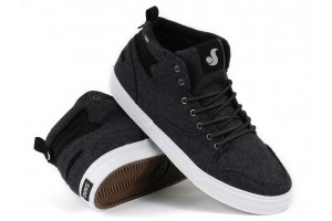 DVS Elm Black Pressed Wool